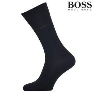 New 4 Pairs HUGO BOSS Men's socks grey, Navy color Dress/Casual US Size7-9