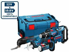 Bosch 108gsbgmlfive 10.8v 5pc Power Tool Kit 3 X 2.0ah Li-ion