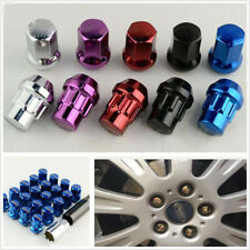 20x Alloy Steel Racing Car Modified Blue Wheel Screw Anti-theft Nut For Toyta