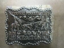 1987 Hesston Woman's/Child's Belt Buckle National Finals Rodeo New in Package!!