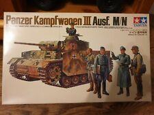 Tamiya 3511 Panzer Kampfwagen III Ausf.M/N 1/35 Sealed