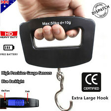 50KG Electronic Portable Digital Luggage Scale Travel Suitcase Heavy Duty