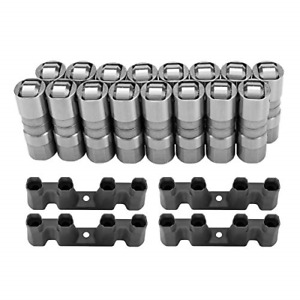 DEFEND INDUST Hydraulic Roller Lifters & 4 Guides Set16 LS7 LS2 16 Fits for GM