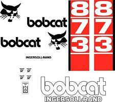 873 D Replacement decals decal kit / sticker set skid loader steer fits bobcat