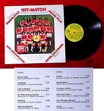 LP Hit-Match - Jeder Song ein Treffer (PSM LP 105) CH 1977 Pepe Lienhard u.a.