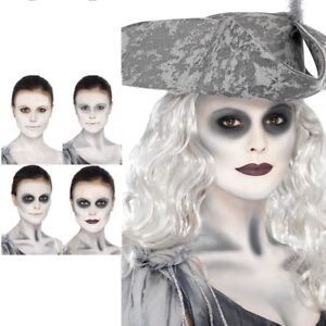 Ghost Ship Make Up Kit Zombie Pirate Face Paint Halloween Fancy Dress Facepaint