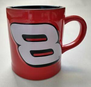 NASCAR Dale Earnhardt Jr #8 3D Large Coffee Mug  2003 Licensed Red Black