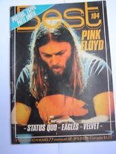 BEST 1977 104 PINK FLOYD STATUS QUO EAGLES VELVET UNDERGROUND FRANK ZAPPA