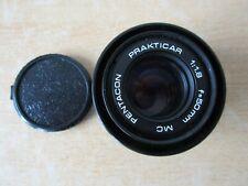 Prakticar Pentacon 50mm Camera Lens 1:1.8 MC