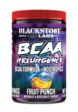 Blackstone Labs BCAA RESURGENCE + Nootropics 30 Servings FRUIT PUNCH