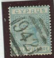 Cyprus Stamps Scott #11 Used,F-VF (X8034N)