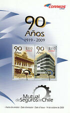 Chile 2009 Brochure 90 years Mutual de Seguros de Chile - no stamps