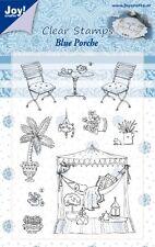 Joy Crafts - Sellos de Polímero Transparente - Azul Porche - 6410/0350 Reducido