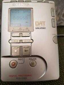 SONY DAT WALKMAN TCD-D100