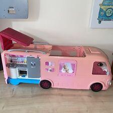 More details for mattel barbie dream camper rv pink 2016 motorhome van  and pool free uk p&p