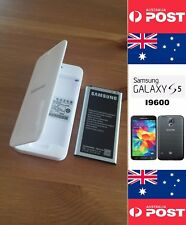 Samsung S5 Battery EB-BG900BBE 2800mA NFC With Retail White Charger Dock - Local