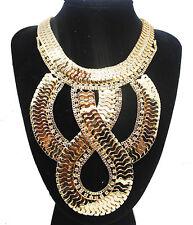 Fashion Charm Pendant Chain Crystal Jewelry Choker Chunky Statement Bib Necklace Style 24