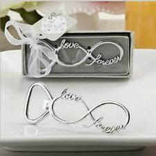 Infinity Love Forever Metal Bottle Opener Bridal Shower Wedding Souvenirs CO
