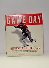 Georgia Game Day Hard Back Book Georgia Football UGA Bulldogs Larry Munson