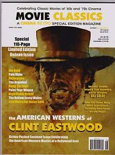 THE AMERICAN WESTERNS OF CLINT EASTWOOD CINEMA RETRO 116 PG SPECIAL ISSUE LTD ED