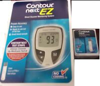 Bayer Contour Next Blood Glucose 10 Test Strips EXP 05/31/ 2021 + Plus Meter kit