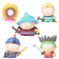 5PCS Cute South Park Stan Kyle Eric Kenny Leopard Action Figures Kids Toys Gifts