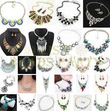 237 Styles Jewelry Pendants Choker Chunky Statement Bib Chain Fashion Necklace