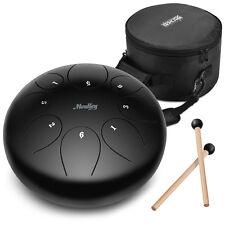 Steel Tongue Drum Hang Drum Tank Drum D Major 11 Notes 10 Inch Steel Percussion