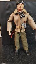Vintage Action Man Tank Commander uniform and figure.