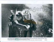 1989 Michael Keaton Kim Basinger in Batman 1980s Movie Press Photo