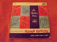 Sound Effects......Car Effects......45rpm