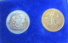 1867-1967 Ontario Confederation Token Commemorate the Role of Mining Origina K61