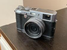 Fujifilm FinePix X Series X100 12.3MP Digital Camera - Silver (Not Working)