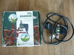 Colombo CO2 Electric Solenoid Valve - Carbon Dioxide Regulator for Plant Growth