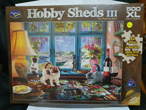 Holdsons 77085 Hobby Sheds III The Puzzlers Nook by Steve Read 1000 pce jigsaw