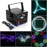 500mw RGBW Animation DMX ILDA Laser Projector DJ Party PRO Stage Lighting Effect