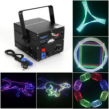 500mW PC Project ILDA RGB Fullcolor 3D Animation DMX DJ Party Stage Laser effect
