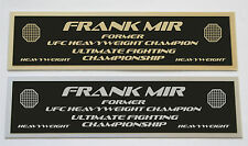 Frank Mir UFC nameplate for signed mma gloves photo or case