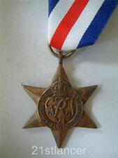 WW2 BRITISH & COMMONWEALTH ALLIED FORCES FRANCE & GERMANY STAR MEDAL ARMY RAF