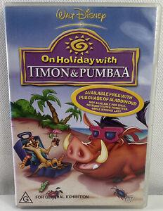 On Holiday With Timon & Pumbaa DVD Disney Lion King