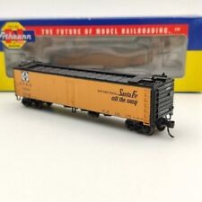 Athearn N Scale Trains 11593 A.T.S.F EI Capitan 50 Ice Bunker Reefer 37375 Used