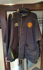 Adults Manchester United Football Rain Jacket Large UMBRO Sharp