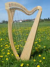 Wo die Harfe wohnt - 36 Saiten H1-H6 Esche warmer Klang + Tasche + Ersatzsaiten+
