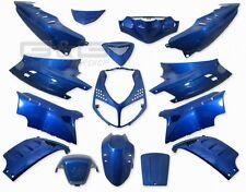 Verkleidungsset Verkleidung 15 Verkleidungsteile in Blau für Peugeot Speedfight