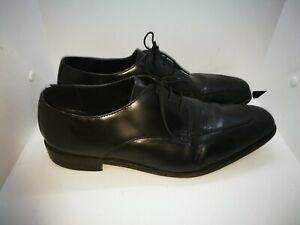 Samuel Windsor black leather shoes size 12