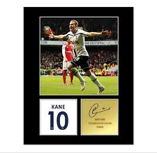 Harry Kane Signed Photo Mount (Pre Printed Autograph) Gift For A Spurs Fan