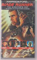 Blade Runner Director's Cut VHS Video Tape Vintage