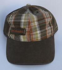 Columbia Sportswear Co. OMNI-SHADE One Size Strapback Plaid Baseball Cap Hat bb0abfd9762f