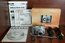 CANON POWERSHOT A720 IS 8.0 MP DIGITAL CAMARA 6X OPTICAL ZOOM WITH BOX & MANUALS