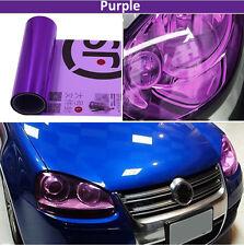 100cmx30cm Purple Tint Film Sticker Sheet for Auto Car Headlight Fog Tail Lamp